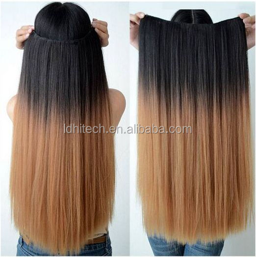 wholesale fashion virgin halo hair extension product new hair extension tool