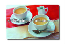 flexible portable pp placemats with coffee promotion