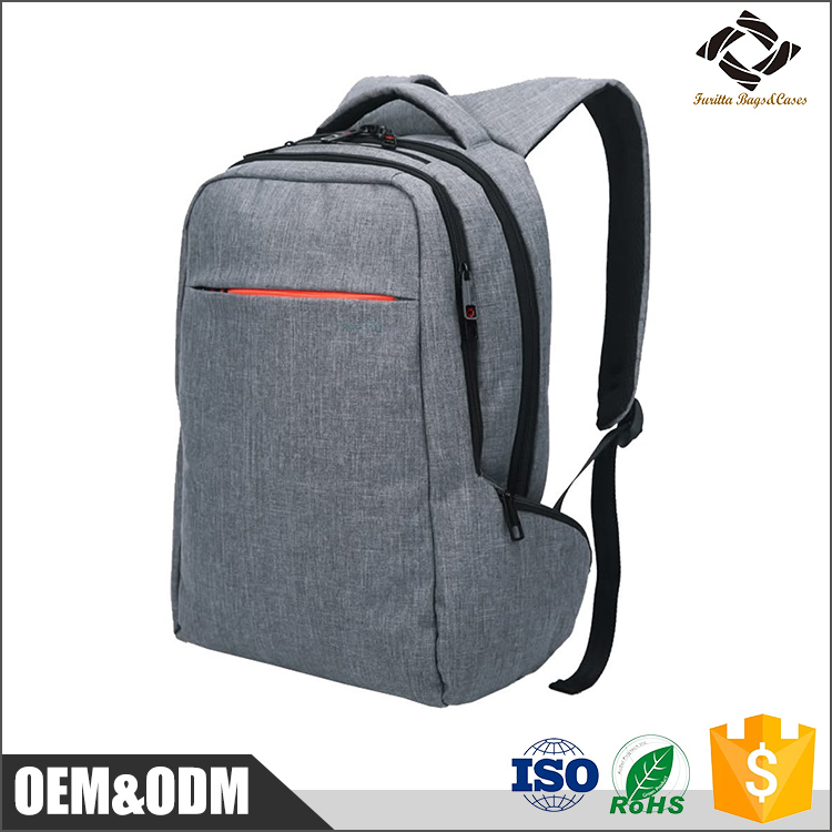 Large capacity hidden compartment Waterproof Laptop backpack
