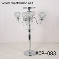 2018 Hot sale 4 arms wedding flower stand crystal candelabra centerpiece for wedding party & event decoration(MCP-083)