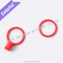 excellent quality Summer colorful bra strap nylon 0/8/9 ring,underwear buckle strap slider