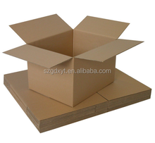 Single-Wall Deluxe Corrugated Packing Box Kraft