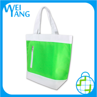 waterproof wine cooler bag reusable recycled cooler PP Non Woven hand bag