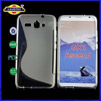 TPU Cover S line design cases for HuaWei Ascend GX1 cell phone covers