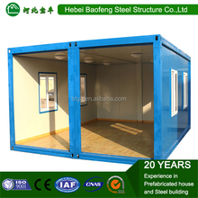 Baofeng 20ft 40ft steel military camp container flat pack container house used for military