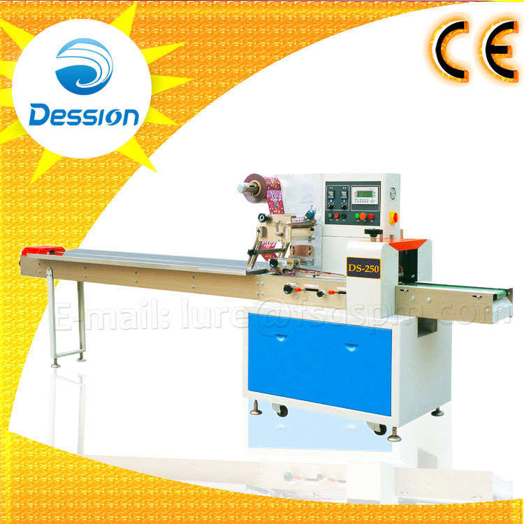 Flow Wrapping Machine for Pork Meat Packing Machine with Plastic Bag
