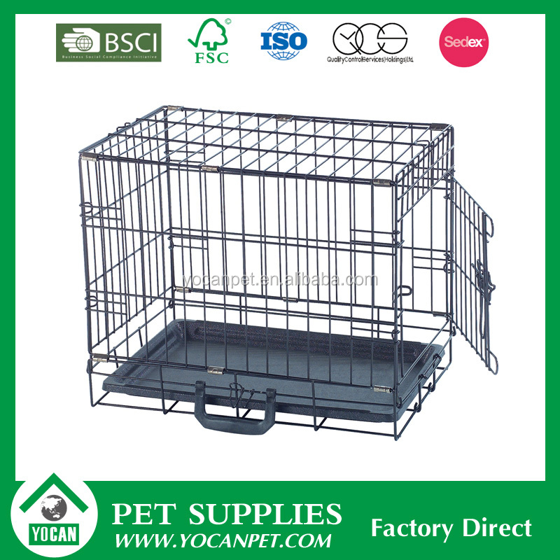 welded wire mesh iron dog cage