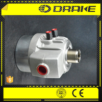Through-hole rotary hydraulic cylinder safety structure It can retain the gripping force by check valve