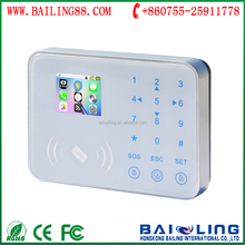 GSM+WIFI dual network 868mhz touch keypad gsm home security alarm system best gsm home alarm system