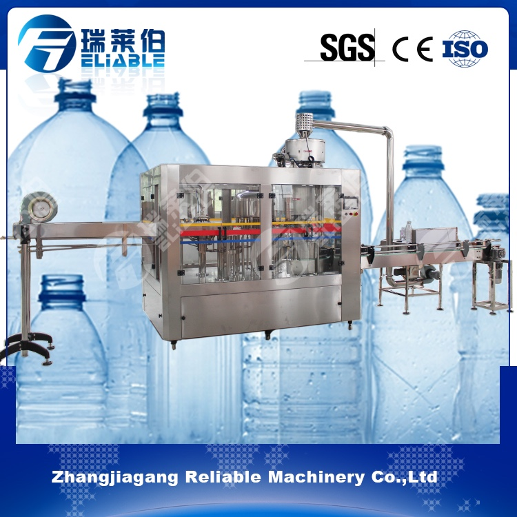 China Pure Water Bottle Filling Plant Machine For Sale In Germany