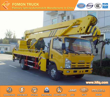 Japan technology 4*2 16m 18m aerial work truck for sale