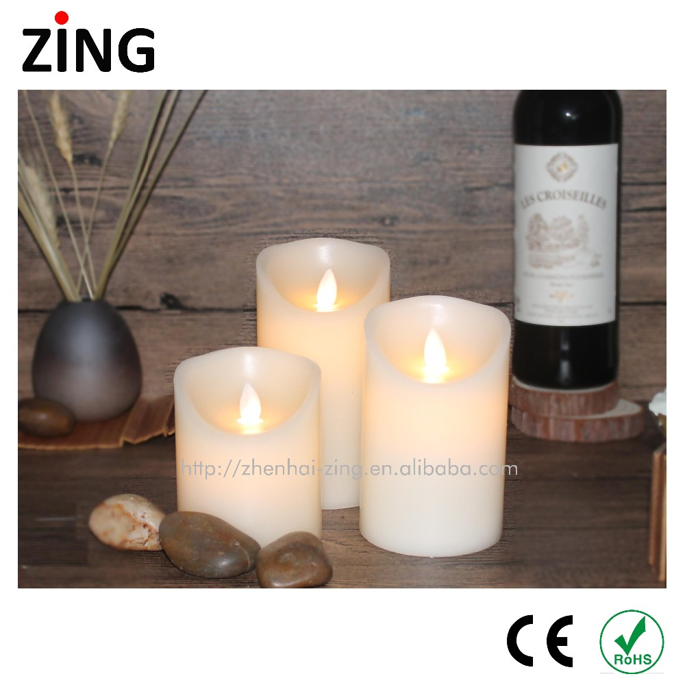 Manufacturer Supplier christmas tree shape candles Customized