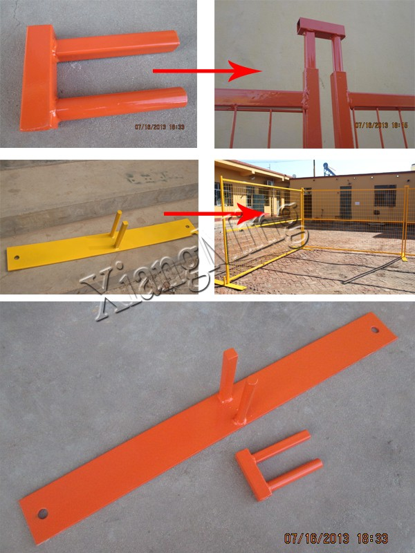 powder coated temporary fence panels for Canada