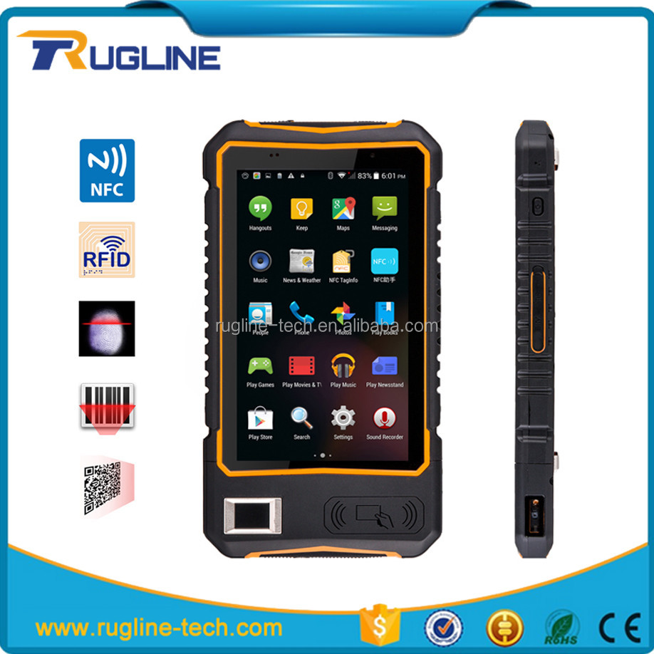 Cheapest Factory Rugged Tablet With Qr 1d 2d Bar Code Scanner/reader With Touch Sceen/display Wifi Gps Bluetooth Nfc