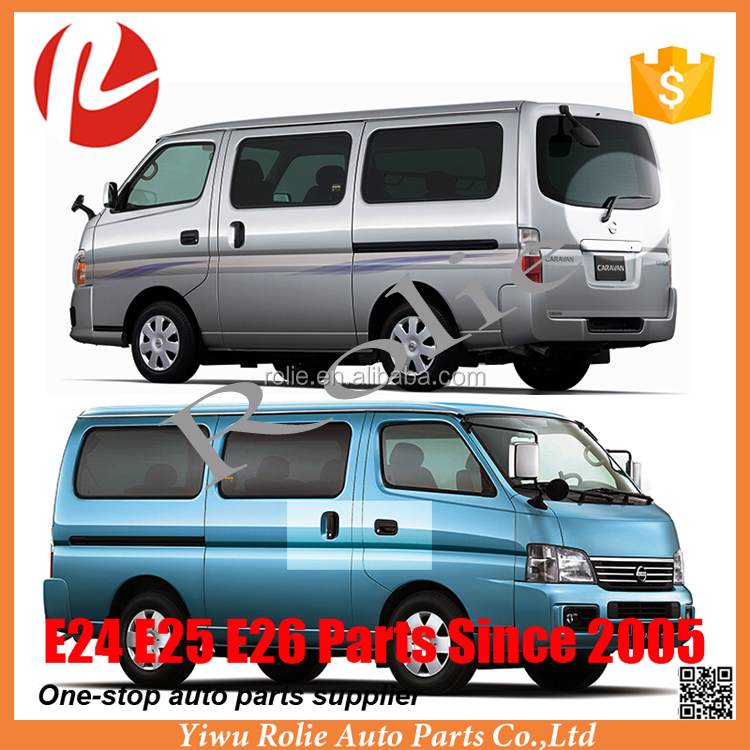 One stop NISSANe E25 Caravan Urvan parts spare 2005-2011 headlight tail light bumper chrome accessories etc auto body kit parts
