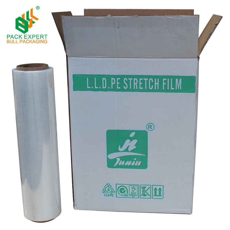 Machine Use Wrapping Clear Pre Stretch Film