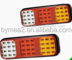 stop tail turn di reverse reflex led signal light with IP67 made in China