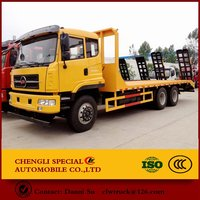 Low flatbed truck carrying 20-30t for sale China manufacturer Excellent quality