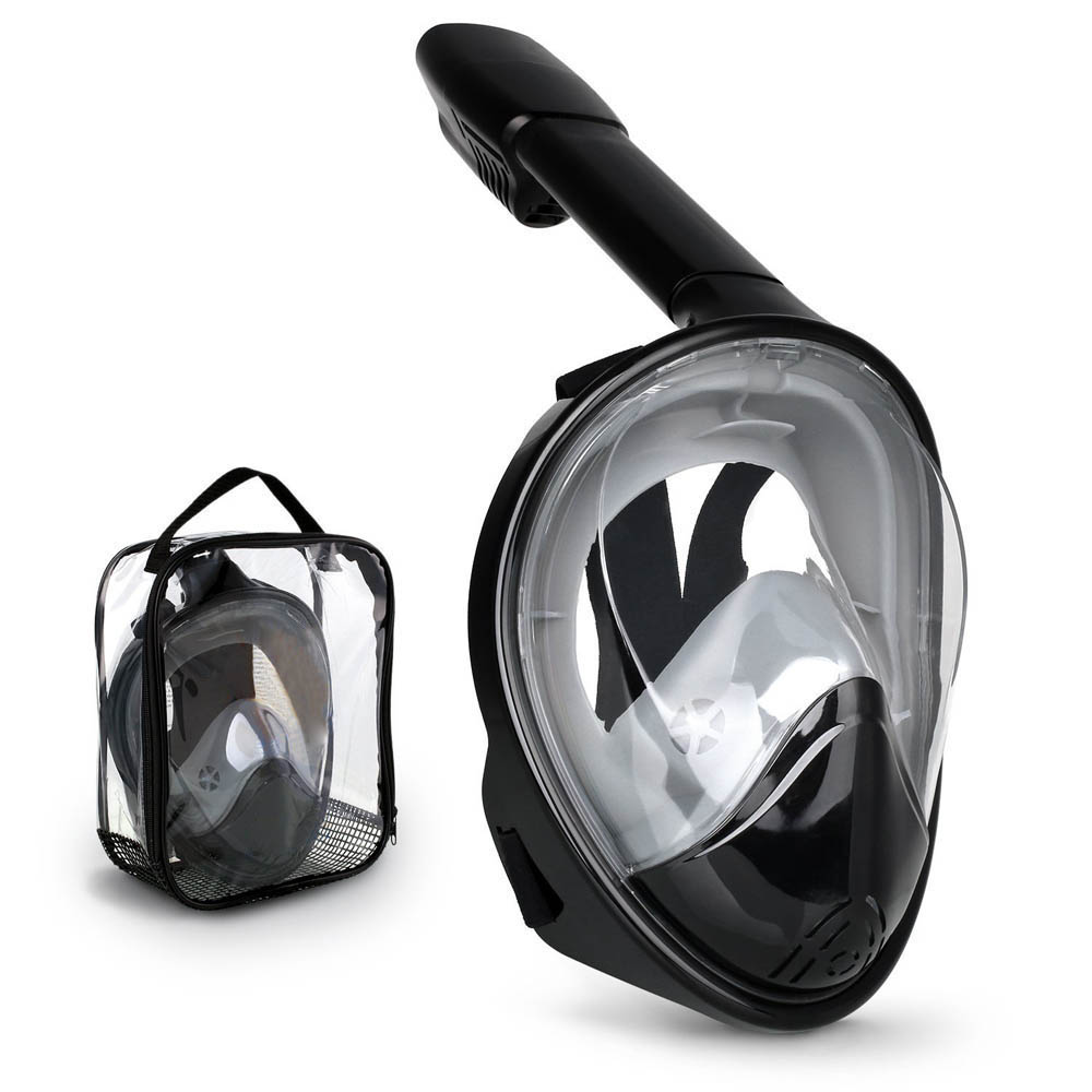 Professional shenzhen full face diving mask with gopro camera mount