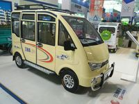 solar panel electric passenger van with seat belt
