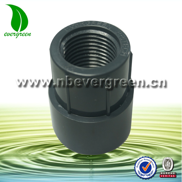 plastic quick connect fittings upvc adaptor nipple connector for water sprinkler