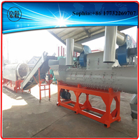 stainless steel recycle machine for recycling washing waste plastic pe pp film pet bottle