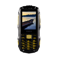 Outdoor rugged phone 3Sim card cheap waterproof mobile phone in dubai
