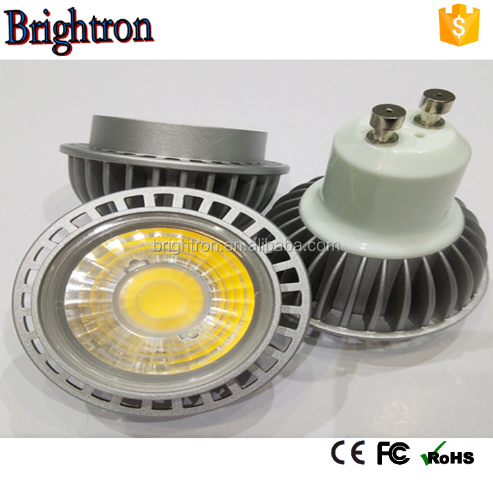 120 Degree MR16 GU10 E14 Dimmable 5W LED COB Spot light 5W