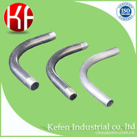 Steel 90 degree imc pipe elbow