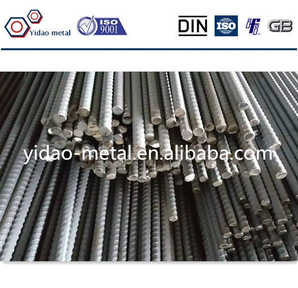 fully steel threaded bar used for pre-stressed/post-tensioning systems