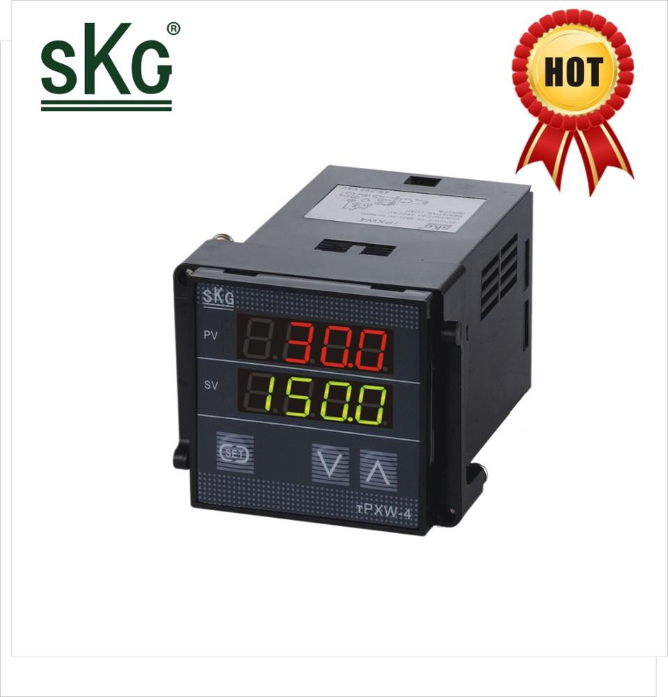 TPXW4 skg small digital panel single phase 6v 12v 8 hole base <strong>11</strong> hole base Rail installation temperature controller