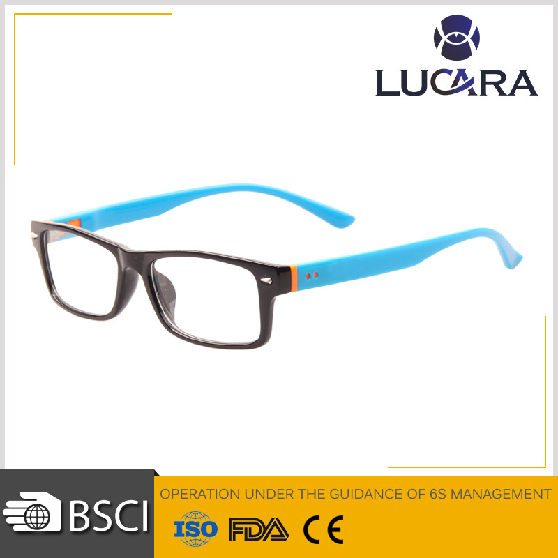 2015 Fashion star optical glass plastic frame reading glasses clear eye glasses