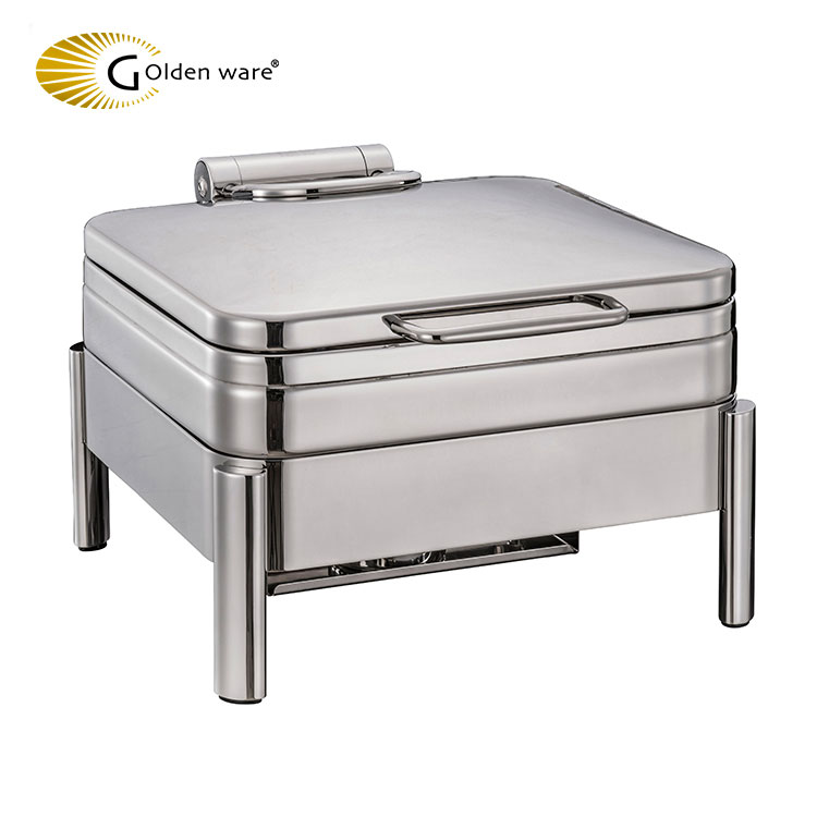 Golden Ware Hot sale kitchen equipment hydraulic buffet serving set