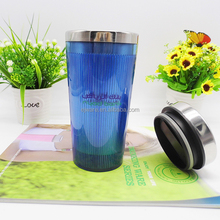 wholesale double wall stainless steel travel coffee mug for car
