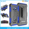 3 in 1 Heavy Duty Defender Phone Case For Samsung Galaxy A3 2017 Holster Belt Clip Case