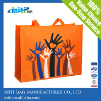eco friendly reusable shopping bag raw material for non woven bags