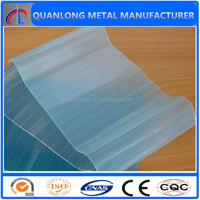 corrugated clear fiberglass panels for roof