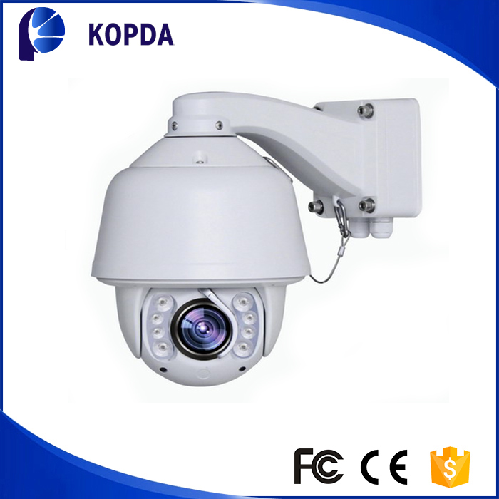 Waterproof 30x optical zoom 1080P 2mp outdoor dome ptz ip camera