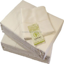 100% Organic bamboo fabric bed sheets wholesale
