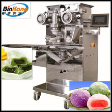 Best sale automatic double filling green tea mochi making machine