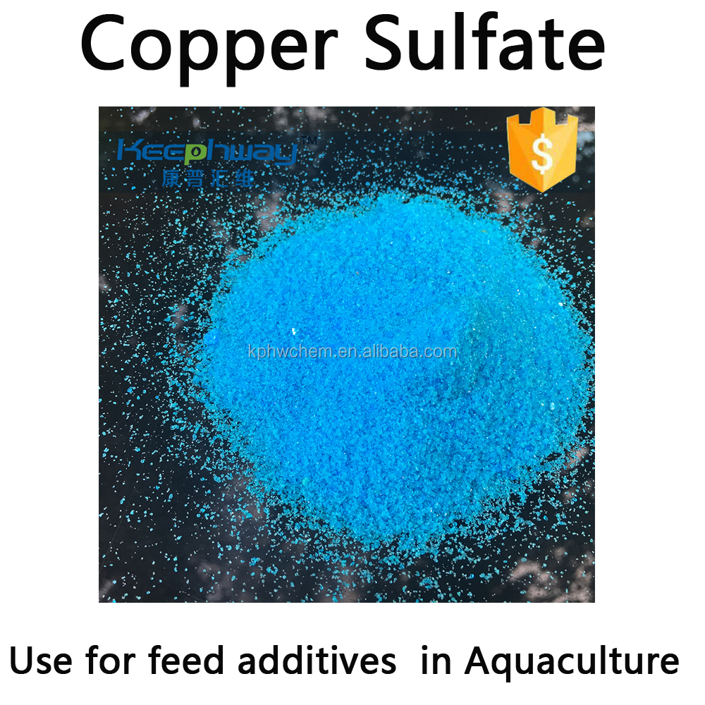 Raw materials of trace elements copper of feed additives in Aquaculture CuSO4.5H2O