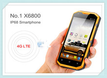 Original NO.1 X6800 IP68 Waterproof 5.5 Inch MSM8916 Quad Core Mobile Phone