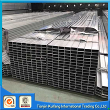 New design square steel pipe / tubes hollow section galvanzied / black annealing with great price