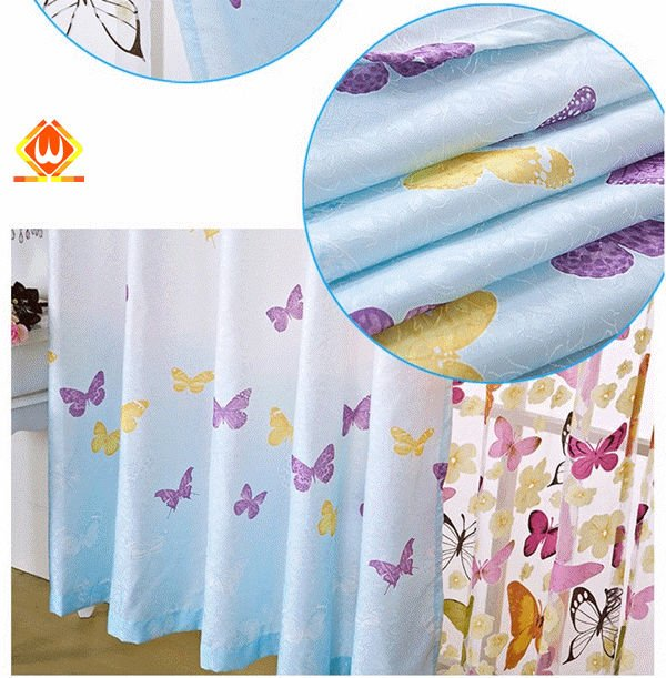 big hole new style happy curtain designs