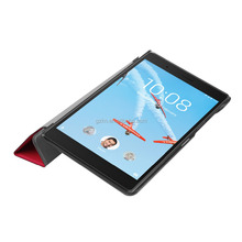 For Lenovo Tab 7 essential leather flip stand case