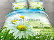 Wholesale china products beautiful 3d bedding set