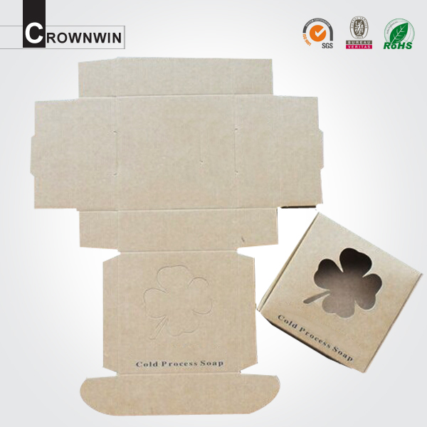 Die Cut Flat Pack Paper Soap Packaging Boxes