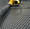 Anti-abrasive Natural Rubber Sheet & Coin Pattern PVC flooring