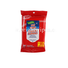 Free sample household cleaning oem cheap disposable floor wet wipes