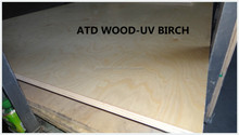 UV birch plywood